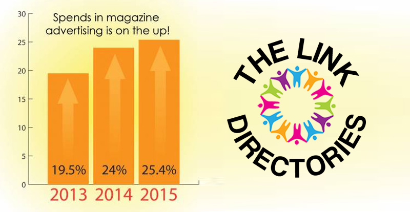 Spends in magazine advertising is on the up!