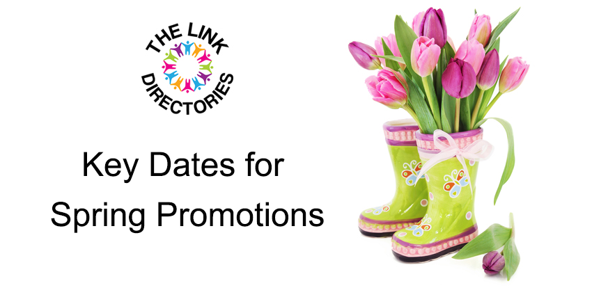 Key Dates for Spring Promotions