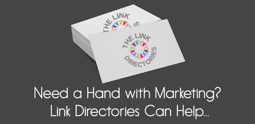 Need a Hand with Marketing? Link Directories Can Help!