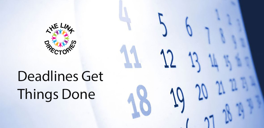 Deadlines Get Things Done