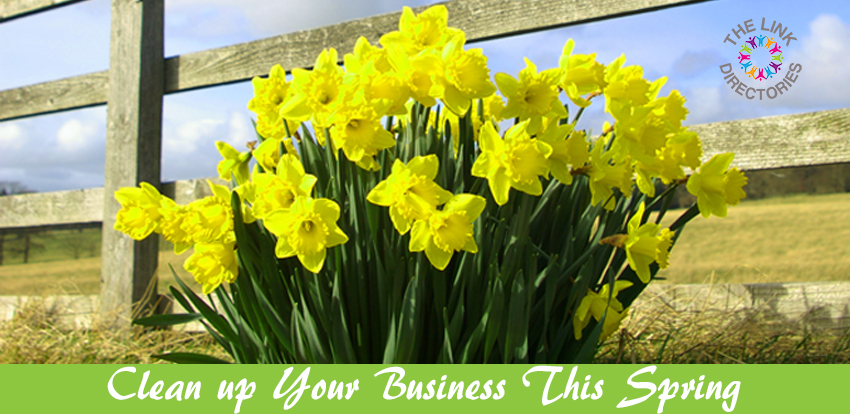 Clean up your business this Spring