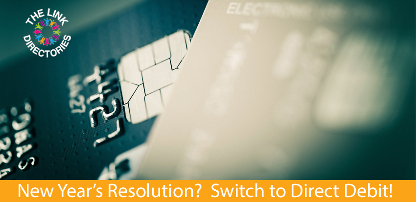 New Year's Resolution? Switch to Direct Debit!