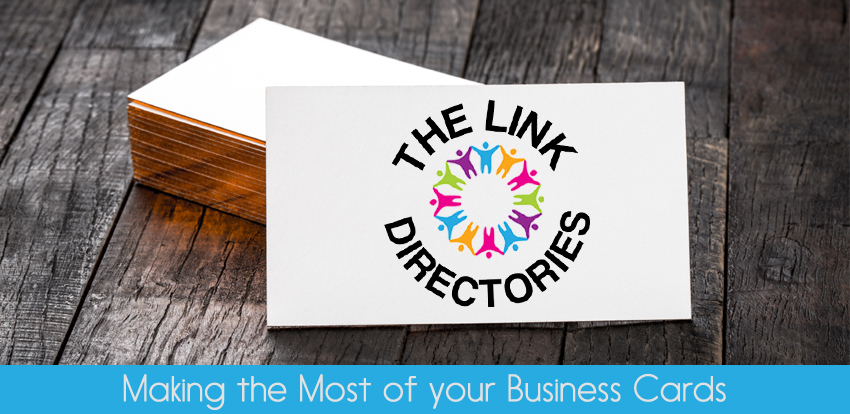 Making the Most of your Business Cards!
