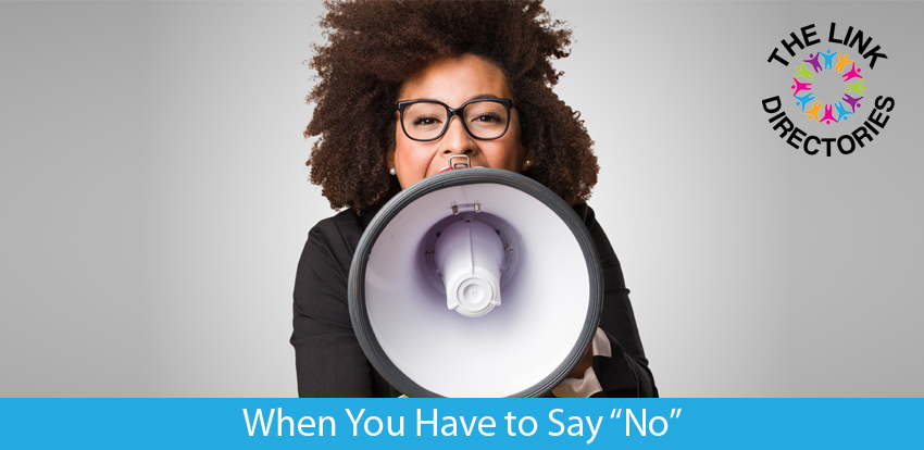 """When You Have to Say """"No"""""""