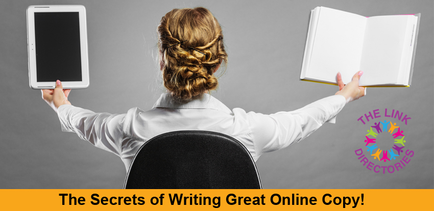 The Secrets of Writing Great Online Copy!
