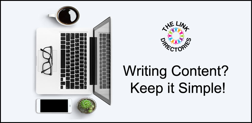 Writing Content? Keep it Simple!