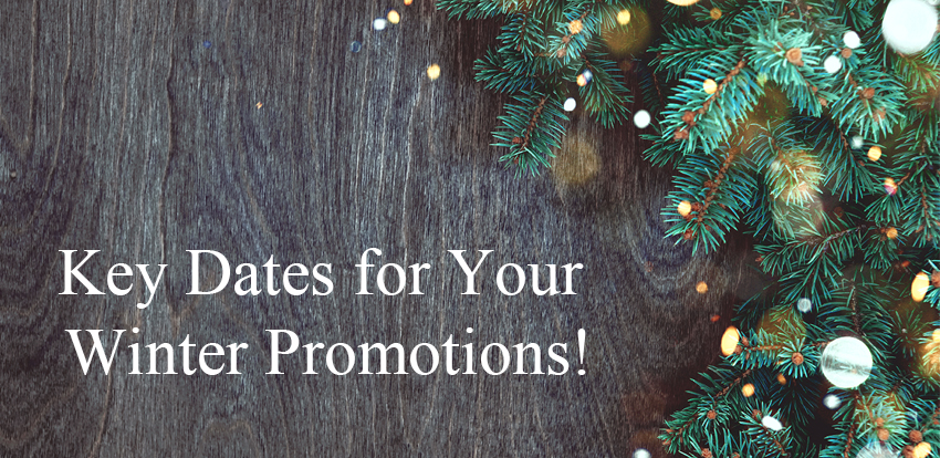 Get Ready for Xmas and New Year Promotions!